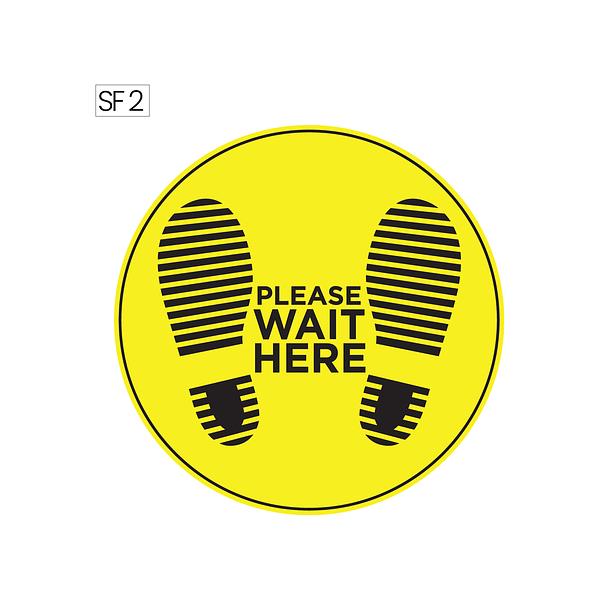 Floor sticker