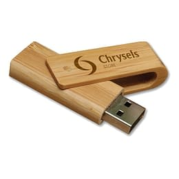 Promotional Bamboo Flash Drive