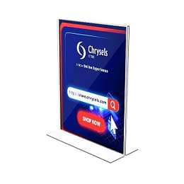 Double sided sign holder dubai