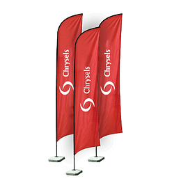 Advertising feather flag