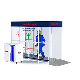 Disinfection kiosk