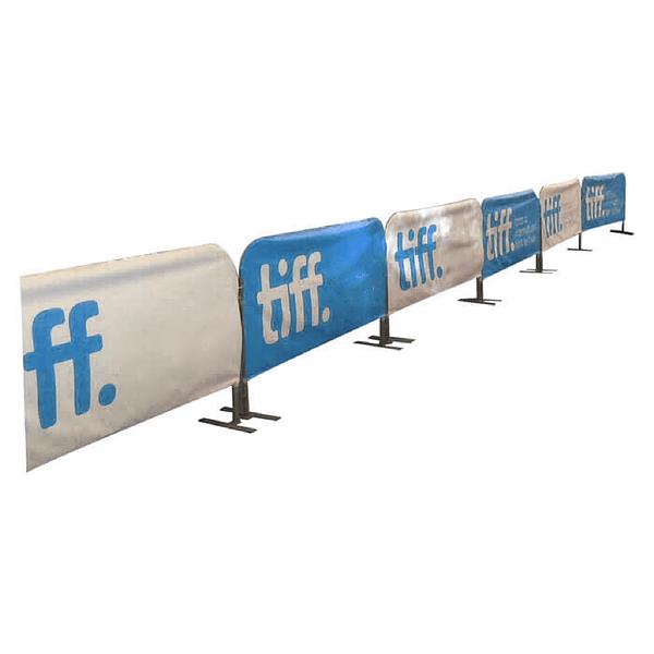 Custom fence stand
