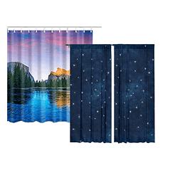 Custom curtain printing