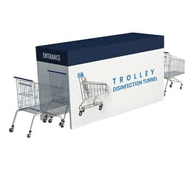 Trolley Disinfection tunnel dubai