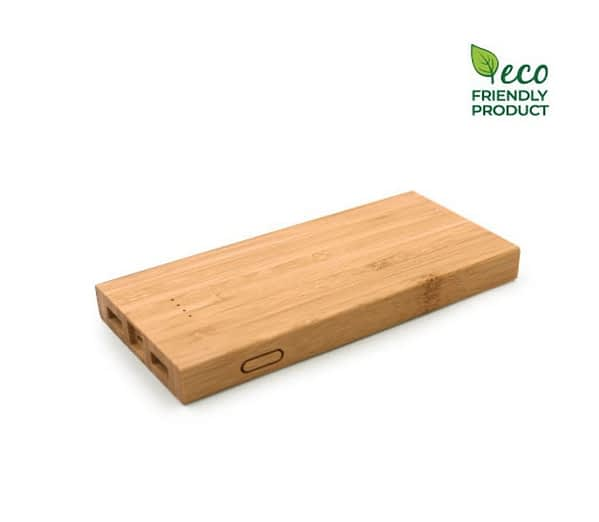 Environment friendly bamboo power bank