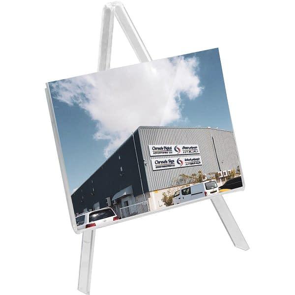 Acrylic photo frame holder