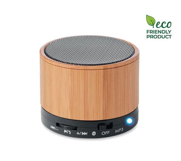 Environment friendly bluetooth speaker
