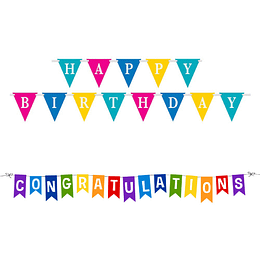 Celebratory Bunting flags