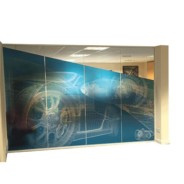 Digital printing glass branding