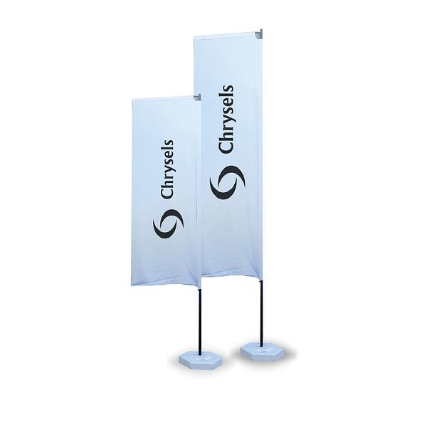 Advertising H flag