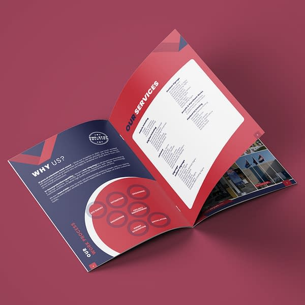 Mockup Brochure design dubai