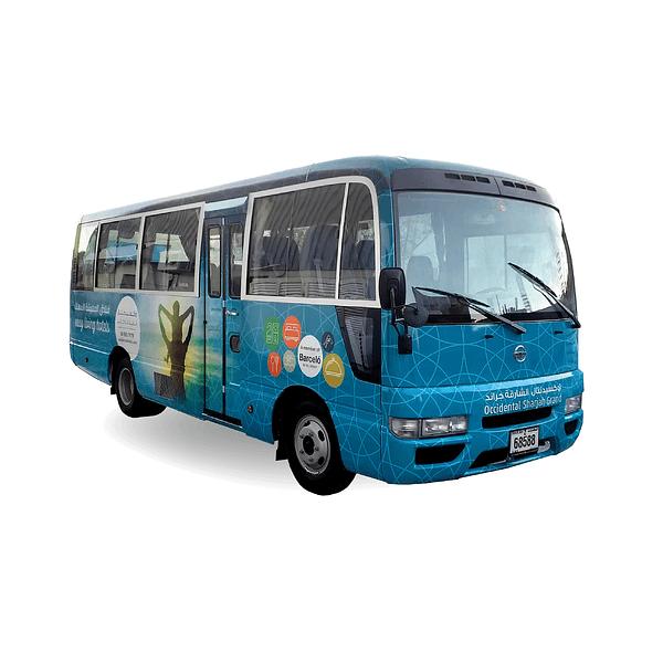 vehicle branding dubai