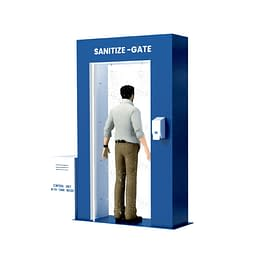 Sanitization gate dubai