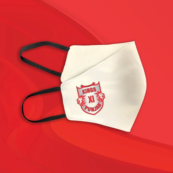 Kings XI Punjab Face Masks
