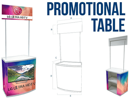 promotional-table
